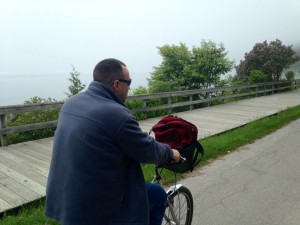 The bike turns out to be the best mode of transportation on this island, and the perimeter trip is a delight. (Cheryl Welch | Travel Beat Magazine)