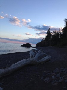 The serenity and wild beauty of Lake Superior creates a sense of calm and wonder in those venturing on the Lake Superior Circle Tour. (Cheryl Welch | Travel Beat Magazine)