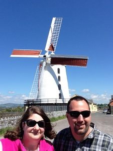The day we discovered, at the Blennerville Windmill, that we had a magic umbrella. (Cheryl Welch | Travel Beat)
