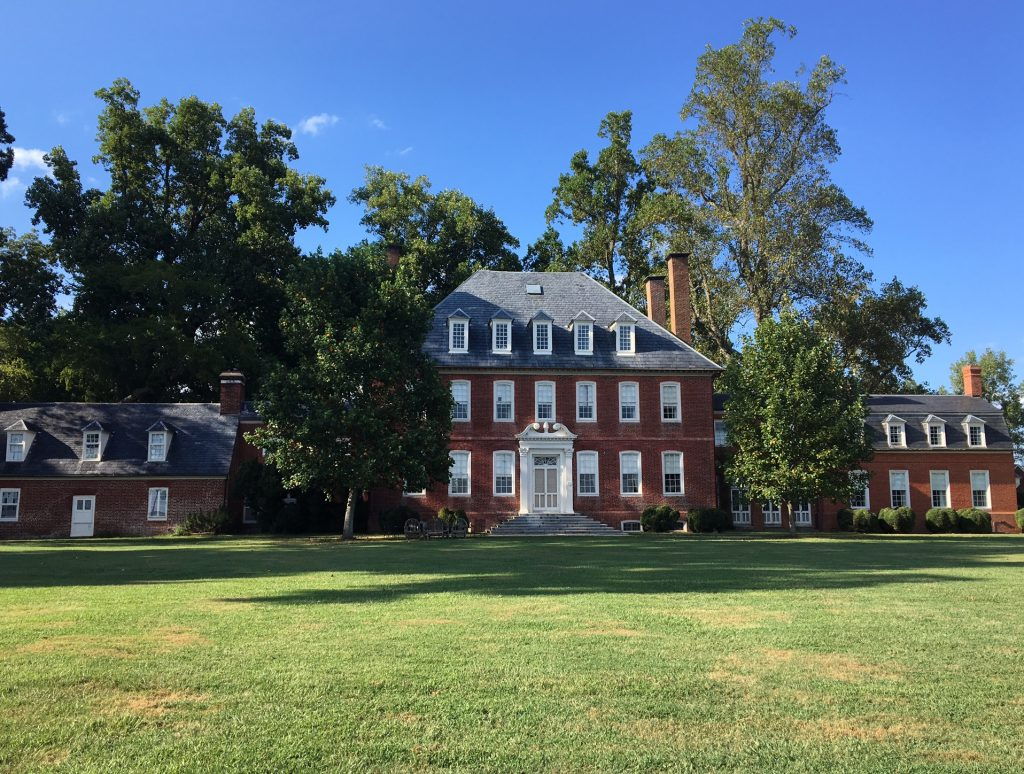 The Westover Plantation has secret passageways that leads to the river and is a fine example of architecture of the 17th century. (Cheryl Welch | Travel Beat Magazine)
