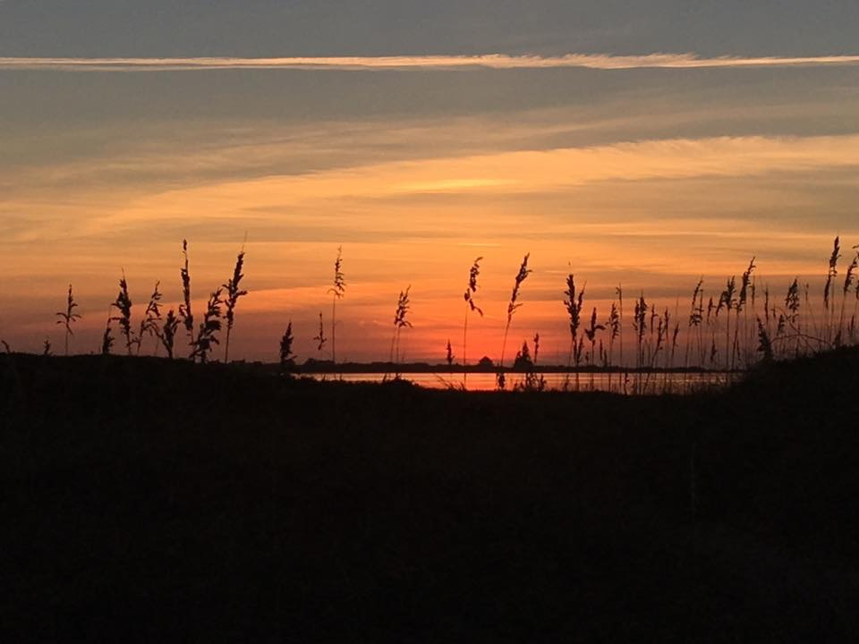 An Outer Banks sunset. (Cheryl Welch | Travel Beat Magazine)