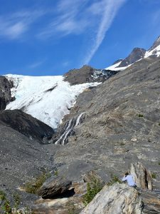 Worthington Glacier Recreation Area has a lot to offer to travelers to and from Valdez. The most adventurous can hike to its top, while those seeking just a peek can easily wheel or walk along the paved paths. (Cheryl Welch | Travel Beat)