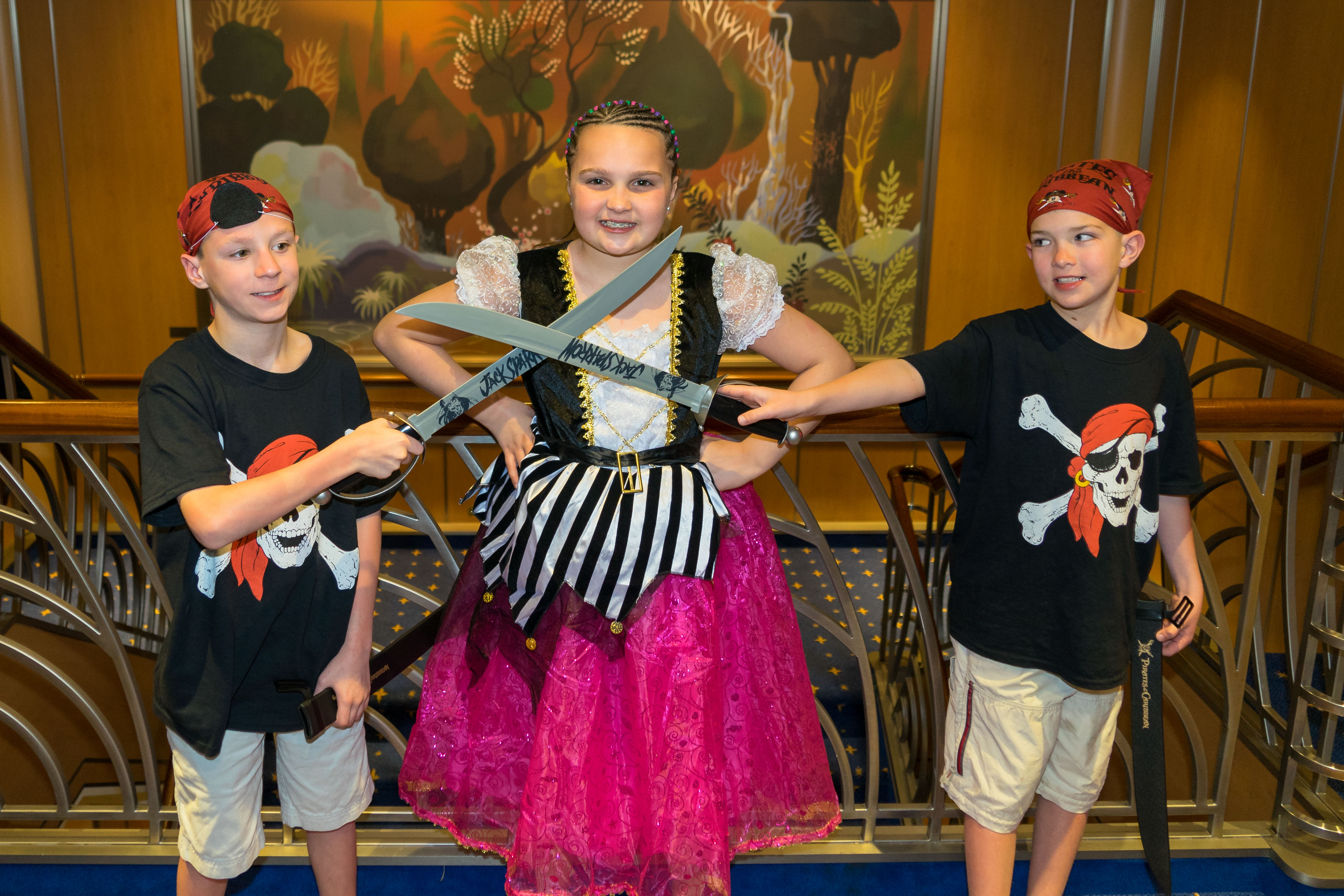 Pirate Night is worth the effort of thinking ahead. The kids will have a memorable time clashing swords with Jack Sparrow and watching fireworks. (Kevin Kaiser | Travel Beat Magazine)