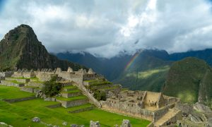 The citadel appears to be at the end of the rainbow. (Kevin Kaiser | Travel Beat Magazine)