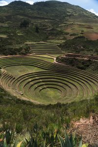 Moray is a significant site of the Inca for its scientific approach to agriculture centuries ago. (Kevin Kaiser | Travel Beat Magazine)